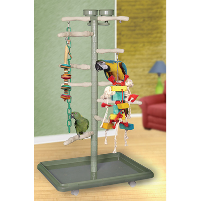 parrot tower bird gyms, play gym for birds